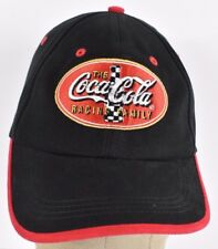 584c8a77ed5 Black The Coca-Cola Racing Family Logo Embroidered baseball hat cap  adjustable