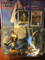 Greg Maddux Braves and Cy Young Red Sox Starting Lineup Classic Doubles 1997 NEW