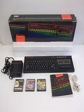 Sinclair ZX Spectrum 128k +2. Boxed with Games