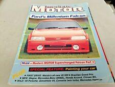 Jun 1987 MODERN MOTOR Mag XF FALCON Benz GIOCATTOLO Corvette Telstar 929 Volvo
