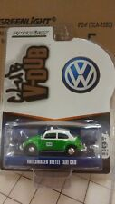 V DUB 1:64 VW VOLKSWAGEN BEETLE TAXI CAB GREENLIGHT 29870F