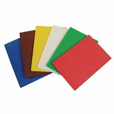 6X Flexible Colour Coded Cutting Mats Colour Coded Chopping Mat Kitchen Board