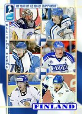 Finland All Time Teams 2020 HH cards 100 year IIHF  full set (7 cards)  4/10
