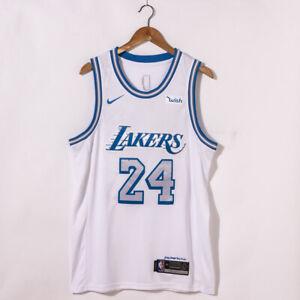 New Men's Kobe Bryant Los Angeles Lakers City Version Jersey Size S M L XL XXL