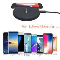 Genuine Caricatore Wireless Qi ricarica veloce per iPhone X 8 Samsung Galaxy S8