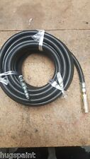 "AIR LINE HOSE COMPRESSOR PIPE CABLE 8mm (5/16"")  10 METRES WITH FITTINGS"