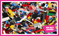 LEGO 1kg Bundle - 700 Mixed Bricks, Parts and Pieces