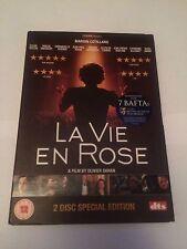 La Vie En Rose (DVD, 2007, 2-Disc Set) region 2 uk dvd