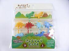 New product!! Dinosaur Food Picks Bento Accessories FREE SHIPPING Type B