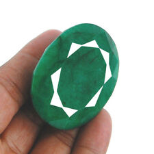 Huge ~ 308 Cts AAA Finest Green Natural Brazilian Emerald Earth Mined Gemstone