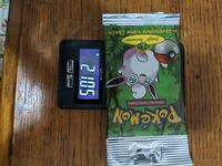 Jungle Booster Pack Wigglytuff 21.05 Long Crimp Factory Sealed Vintage Pokemon