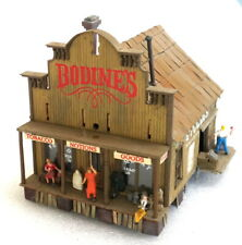 Nicely detailed wood Building - HO
