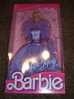 Vintage Barbie Doll Lilac Lovely Lace Sears 1987 Mattel NRFB 7669 Blonde Edition