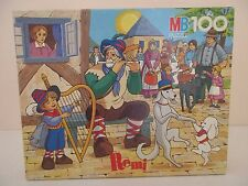 PUZZLE MB 100 - REMI sans Famille - Complet MB 1981 Rare