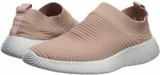 Qupid Women's Spyrock-11 Lightweight Knit Slip-On Mauve Sneaker 8 Medium (B, M)
