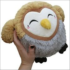 "SQUISHABLE Plush Barn Owl 7"" round stuffed animal Amazingly soft NEW in Pkg"
