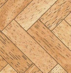 Dollhouse Miniature 1/24 Scale Arrow Parquet Tiles