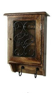 Wooden key House Key hanger box antique key house key holders wood