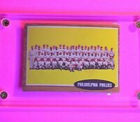 1962 Topps Baseball, #294 Philadelphia Phillies Team card  EX-Mt (No creases)