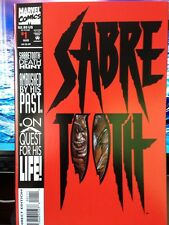 1993 Marvel Comics Sabre Tooth #1 Direct Edition