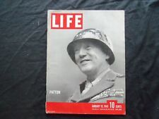 1945 JANUARY 15 LIFE MAGAZINE - GENERAL GEORGE PATTON - L 426