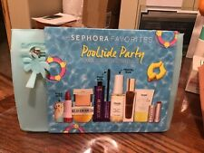 SEPHORA FAVORITES POOLSIDE PARTY SUMMER BEAUTY ESSENTIALS NEW FREE SHIP!