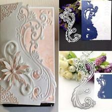 Lace Edge Metal Cutting Dies Stencil Scrapbooking Embossing Paper Card Craft