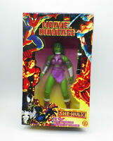 "Toy Biz Marvel Universe She-Hulk 10"" Figure New Free Shipping"