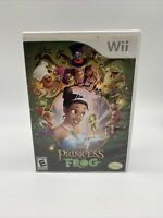 Disney The Princess And The Frog (Nintendo Wii) 2009 with Manual Tested Works