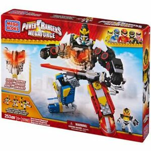 Mega Bloks 5782 Power Rangers MEGAFORCE MEGAZORD LEGO COMPATIBILE ►NEW◄ MISB