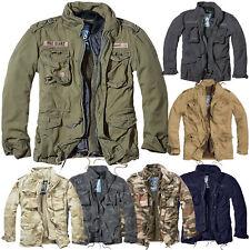 Brandit M65 Giant Jacke S-5XL Vintage Feldjacke Herren Army Outdoor Parka Futter