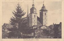 AK Schmalkalden in Thüringen, 1918 gelaufen