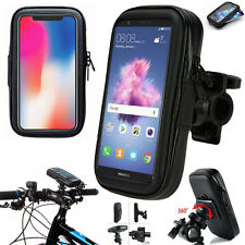Bike Bicycle Mount Holder Phone Case For Huawei P20 P10 Y6 Y7 Honor 9 8 P Smart