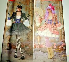 Steampunk Victorian Edwardian Gothic Costume Pattern Halloween Cosplay Holiday