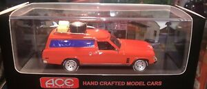 Ace Models PV3 Mad Max Holden HJ Custom Panel Van Red - 1:43 Scale