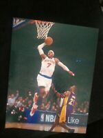 CARMELO ANTHONY SIGNED 8X10 PHOTO KNICKS ROCKETS LAKERS HOF W/COA+PROOF RARE WOW