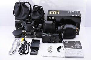 [Near Mint w/Many Accessories] RICOH GR DIGITAL 8.1MP Digital Camera  From Japan