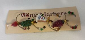 Wine Markers Brie Grapes Boston Warehouse Creative Ideas for Home Entertaining