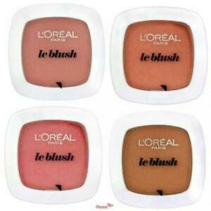 L'OREAL Le Blush Blusher Powder with Brush - CHOOSE SHADE - NEW Sealed