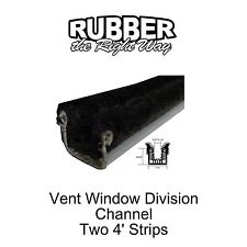 1963 1964 Buick Vent Window Division Channels - Pair