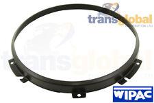 "Black 7"" Head Light Lamp Retainer Bezel for Land Rover Defender  WIPAC STC3018"