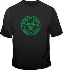 Zombie Solid Short Sleeve T-Shirts for Men