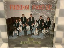 JOYFUL NOISE Freedom Forever Shrink LP Record Album Vinyl
