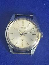 Handsome 1970's Vintage Seiko 5 66-7100 Gent's Auto 17 Jewel Steel Case Watch