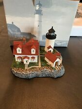 Harbour Lights Goat Island Maine Hl222 Lighthouse New In Box #479 Coa