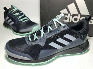 USED ADIDAS Womens Terrex CMTK Walking Hiking Trail Shoes ~ Black ~ Size 10
