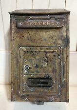 Early 1900's Brass Corbin Mailbox