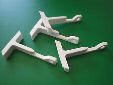 Fensterfeststeller weiß  - 4 Stück - Fensterstopper - Zugluft-Stopper -NEU !!