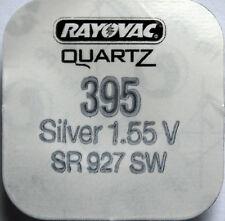 Rayovac 395 SR57 V395 D395 SR927SW Silver Oxide Watch Battery