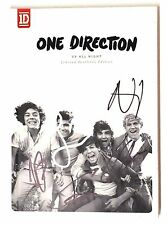 RARE1D ONE DIRECTION UP ALL NIGHT YEARBOOK CD AUTOGRAPHED/SIGNED BY 5 AUTHENTIC